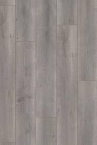 Ambiant Elite | Laminaat Eiken Grijs met 4 V-groeven rondom | L 128,6 x B 19,4 cm