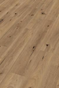 Meister LD250 6844 | Laminaat Veldeik Natuur 4 V-groeven rondom | L 128,7 x B 22 cm