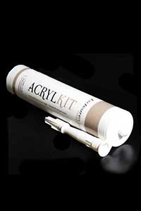 Universele Acrylaatkit 310ml Wit voor plinten